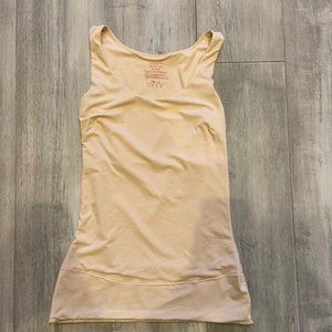 ASSETS RED HOT LABEL BY SPANX nude tank Sz. L